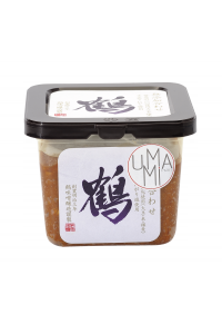 Country-style miso with barley (with no additives) 500g