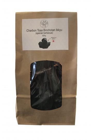 Charbon binchotan Ikkyu pour BBQ 600g