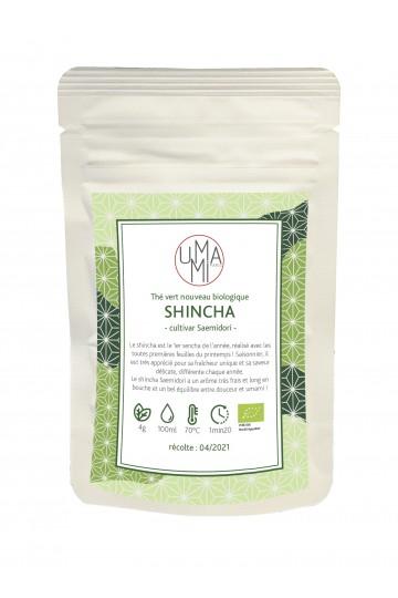 Organic green tea Shincha Saemidori 50g