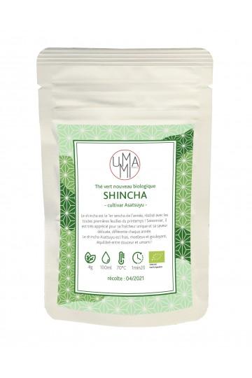 Thé vert Shincha Asatsuyu biologique 50g