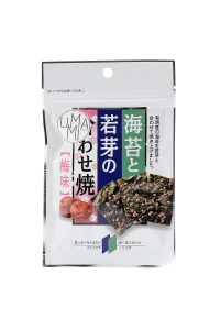 Wakame & Nori Chips with Ume (Plum) taste- 6 g