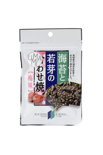 Chips de nori et wakamé goût ume 6g