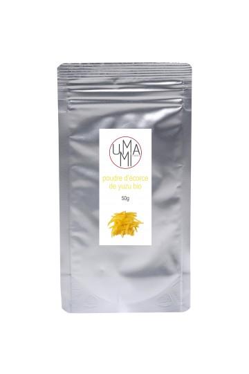 Organic yuzu peel powder 50g