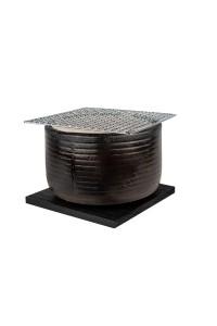 Barbecue japonais de table rond «Mikawa»