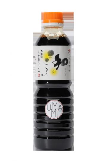 Sauce de soja moins salée Yagisawa 500ml