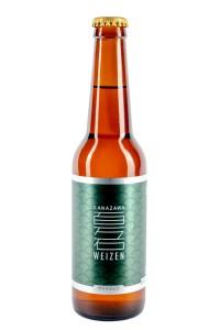 Bière premium de Kanazawa Weizen 330ml  5°
