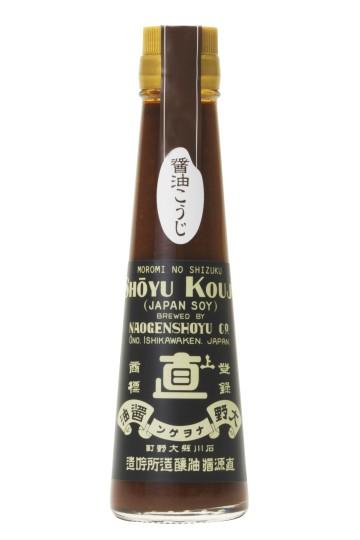 Sauce soja épaisse au Moromi de Koji Naogen 120ml