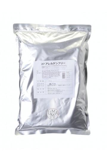 Gluten-free japanese mild curry with no allergen 1kg