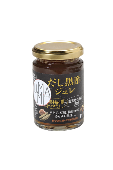 Black vinegar jelly with dashi - 140g