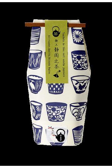 7 teabags of genmaicha green tea - puffed rice + matcha - 21g