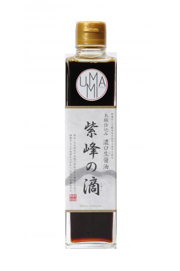 Unpasteurized Shiho no Shizuku Soy Sauce  300 ml