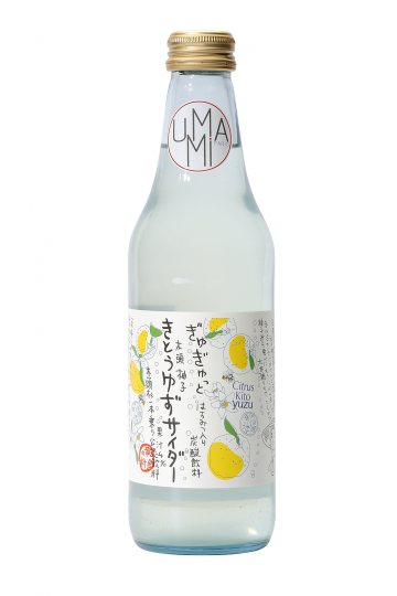 Fizzy Yuzu Lemonade  340 ml