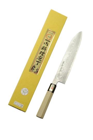 Gyuto couteau de chef Damas 240 mm