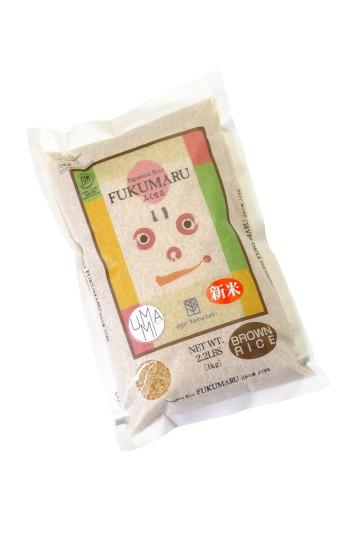 Riz brun japonais Fukumaru 1kg