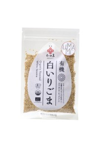 White roasted sesame seeds  50g