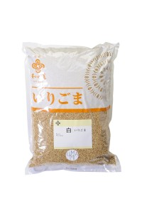 White roasted sesame seeds - 1 kg