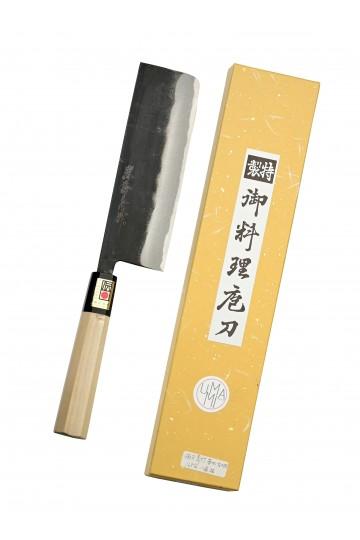 Nakiri couteau pour légumes brut de forge 165 mm