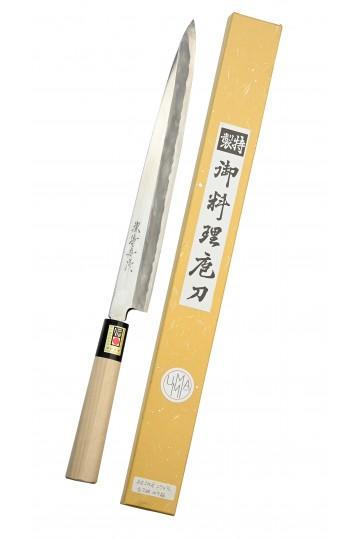 Yanagiba sashimi knife Migaki 270 mm