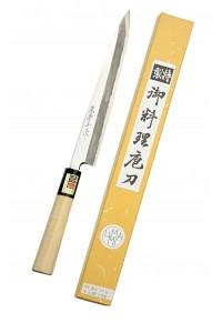Yanagiba couteau spécial sashimi Migaki 210 mm