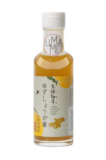 Yuzu Syrup with Honey and Ginger 185 ml