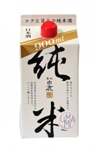 Hakushika Junmai (ideal for cooking) 900ml (14,5% Vol.)