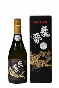 Saké ryusei junmai daiginjo label noir 720 ml