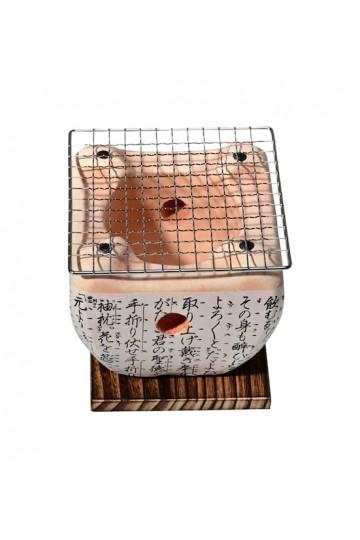 Barbecue japonais de table carré «Daimyo»