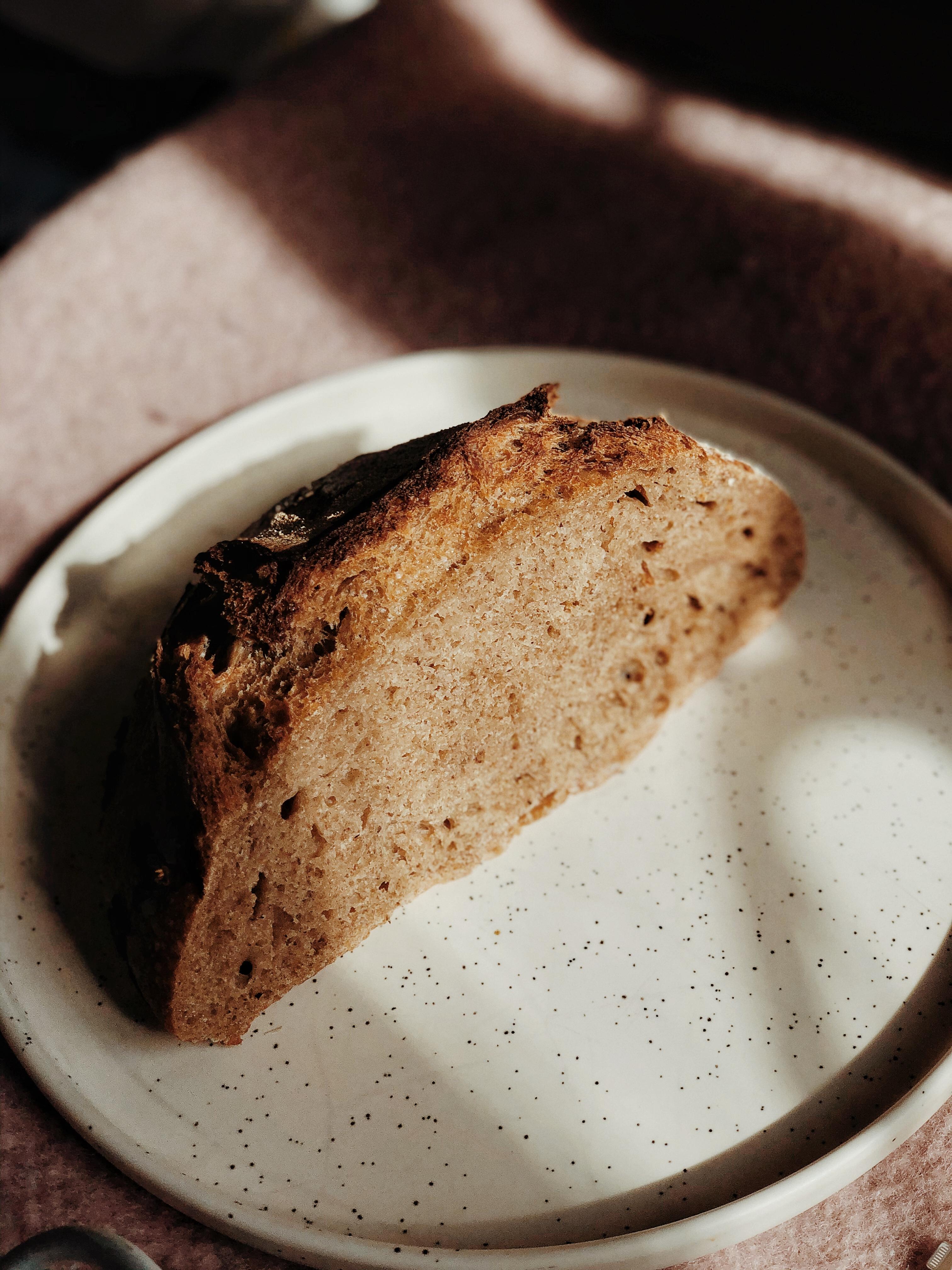 pain au sarrasin découpé